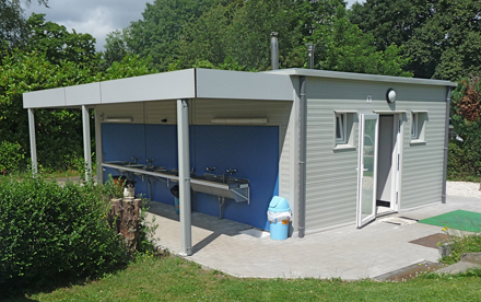 Camp facility at camping Brussels 3CB
